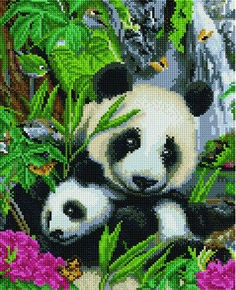 Diamond Mosaic EF 855 Panda Bushes 30*40