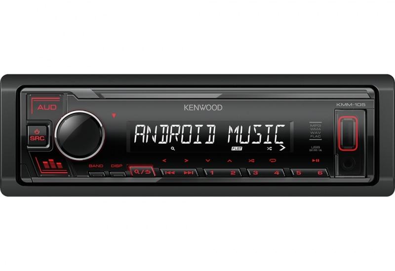 Автомагнитола Kenwood KMM 105 ЖК дисплей, макс. выходная мощность 50 Вт x 4, подсветка, USB и AUX, поддержка|Автомобильные радиоприемники| | АлиЭкспресс