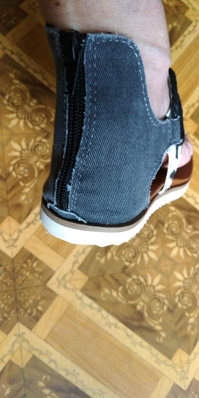 Women Sandals Leopard Pattern photo review