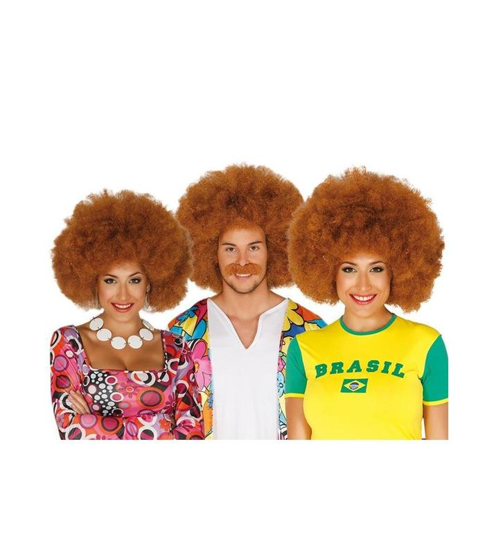 Afro Wig Chestnut Guirca Toy Store