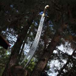 Épée Zulfikar épée faite à la main de haute qualité