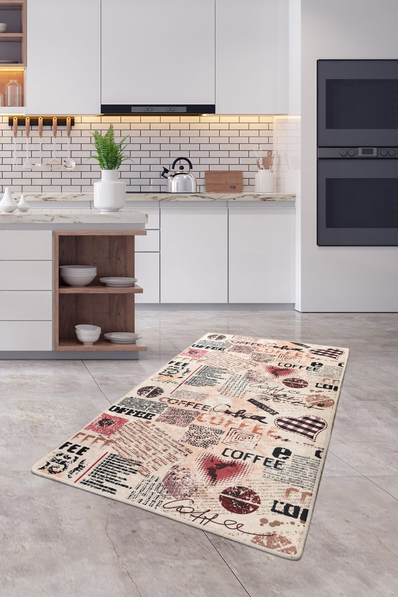 Buffer Premium Quality Kitchen Carpet-Mat-Rug-Kitchen Accersories | Many Different Sizes Inside Our Store Coffee DJT