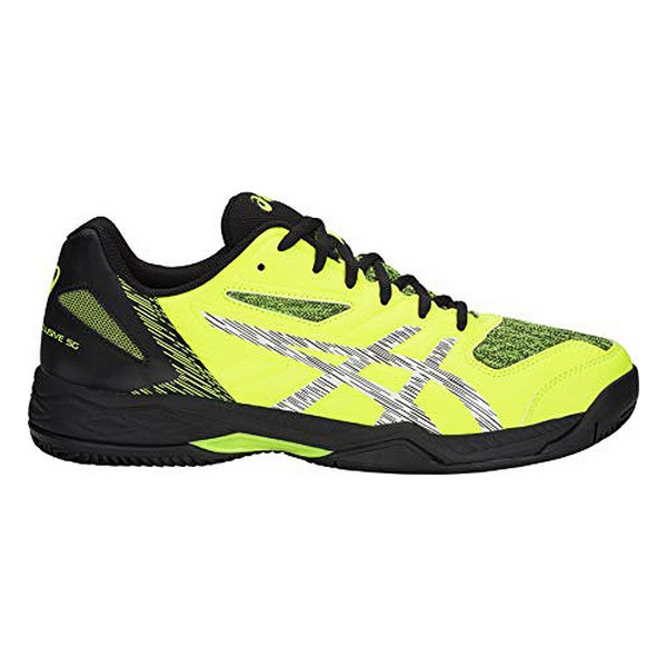 Adult's Padel Trainers Asics Gel Exclusive 5 SG Yellow Black