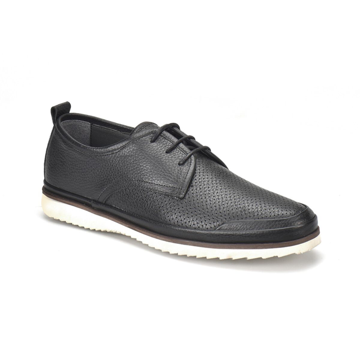 FLO 1791 M 6688 Black Male Modern Shoes Flogart