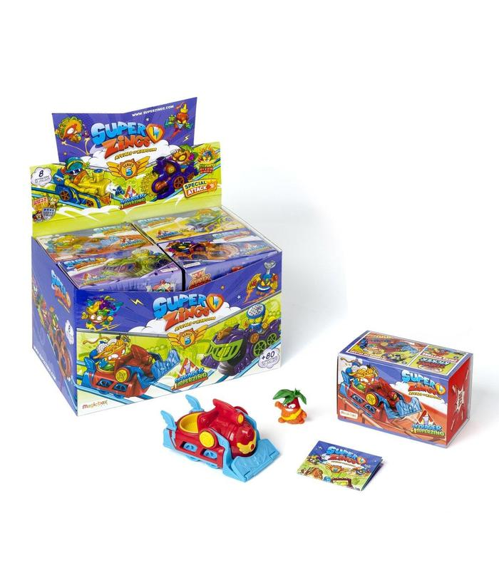 Superzings V Monitor 6x8 Skyracer Single Departs Toy Store