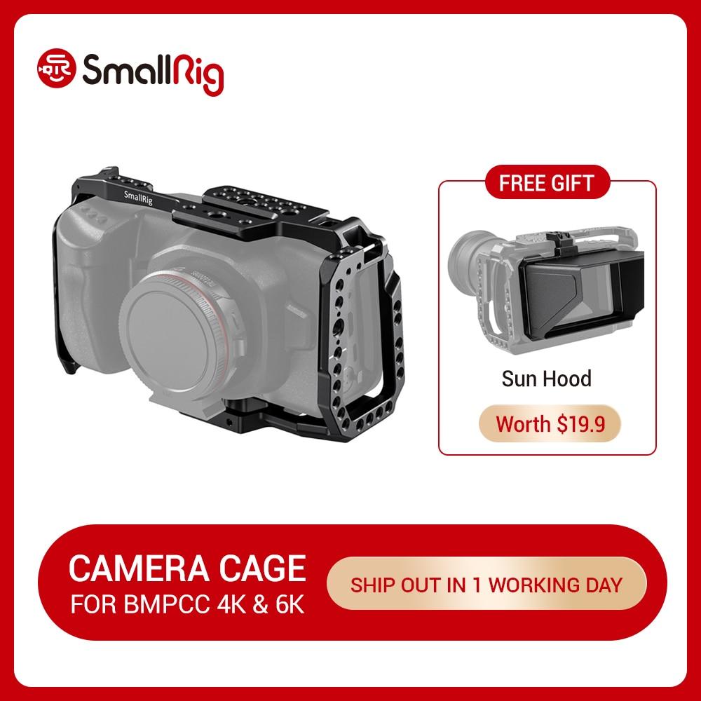 SmallRig BMPCC 4K   6K Camera Full Cage for Blackmagic Design Pocket Cinema Camera 4K  amp  6K  New Version  2203B