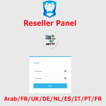 IPTV Control Panel for Reseller management