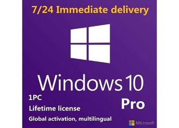 1 Key for 1 User WINDOWS 10 Pro  license key ✔️ fast delivery