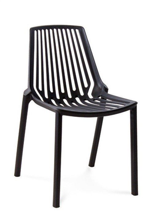 Chair ALANDALUS, Polypropylene Black *