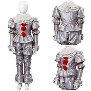 Costume Clown Joker Pennywise Cosplay Halloween Carnival Sets for 2 It-It:Chapter King's