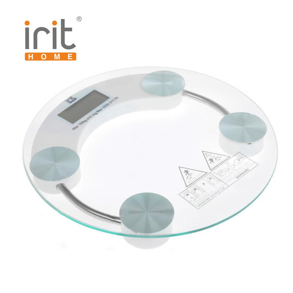 цены на Scale floor Irit IR-7250 Scale floor Scale smart Electronic body Scales for weighing human scales body weight в интернет-магазинах