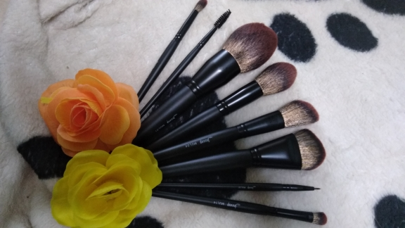 Jessup New Arrival Makeup brushes brushes Phantom Black 3-21pcs Foundation brush Powder Concealer Eyeshadow Synthetic hair reviews №4 49072
