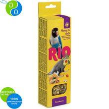 Рио Палочки с медом и орехами для средних попугаев 2х75 г