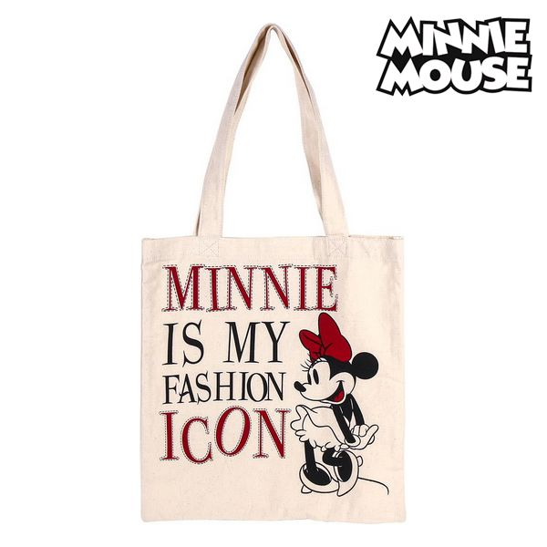 Multi-use Bag Minnie Mouse 702892 White Cotton
