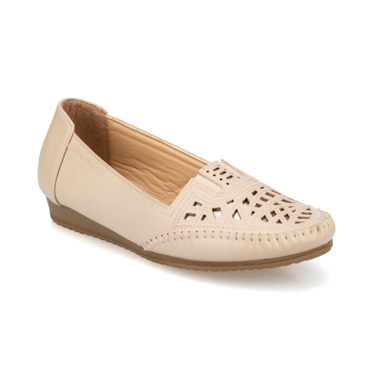 FLO 91. 158752.Z Beige Women 'S Shoes Polaris