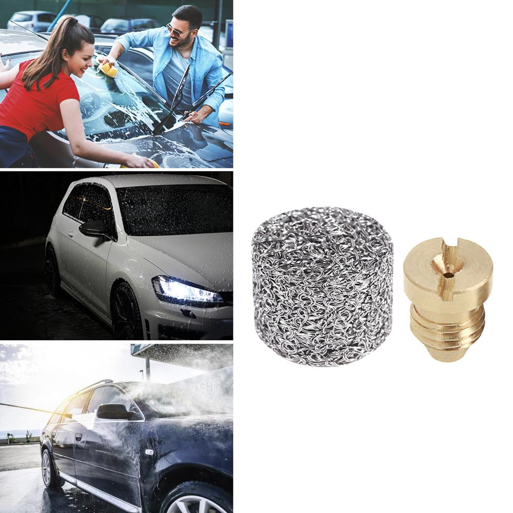 Foam Generator Pot Filter Cartridge Copper Nozzle Tip For High Pressure Car Washing Gun Foam Filter Lance Mesh Tablet Accessory