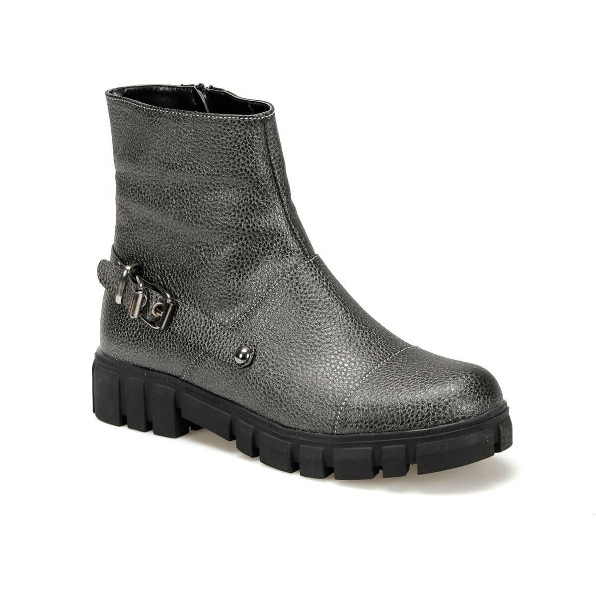 حذاء بوت للنساء أنثراسايت من FLO MEGY17Y