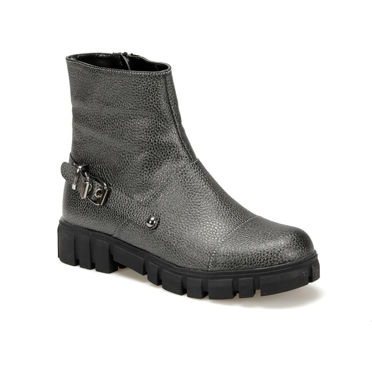 FLO MEGY17Y SKIN Anthracite Women Boots BUTIGO
