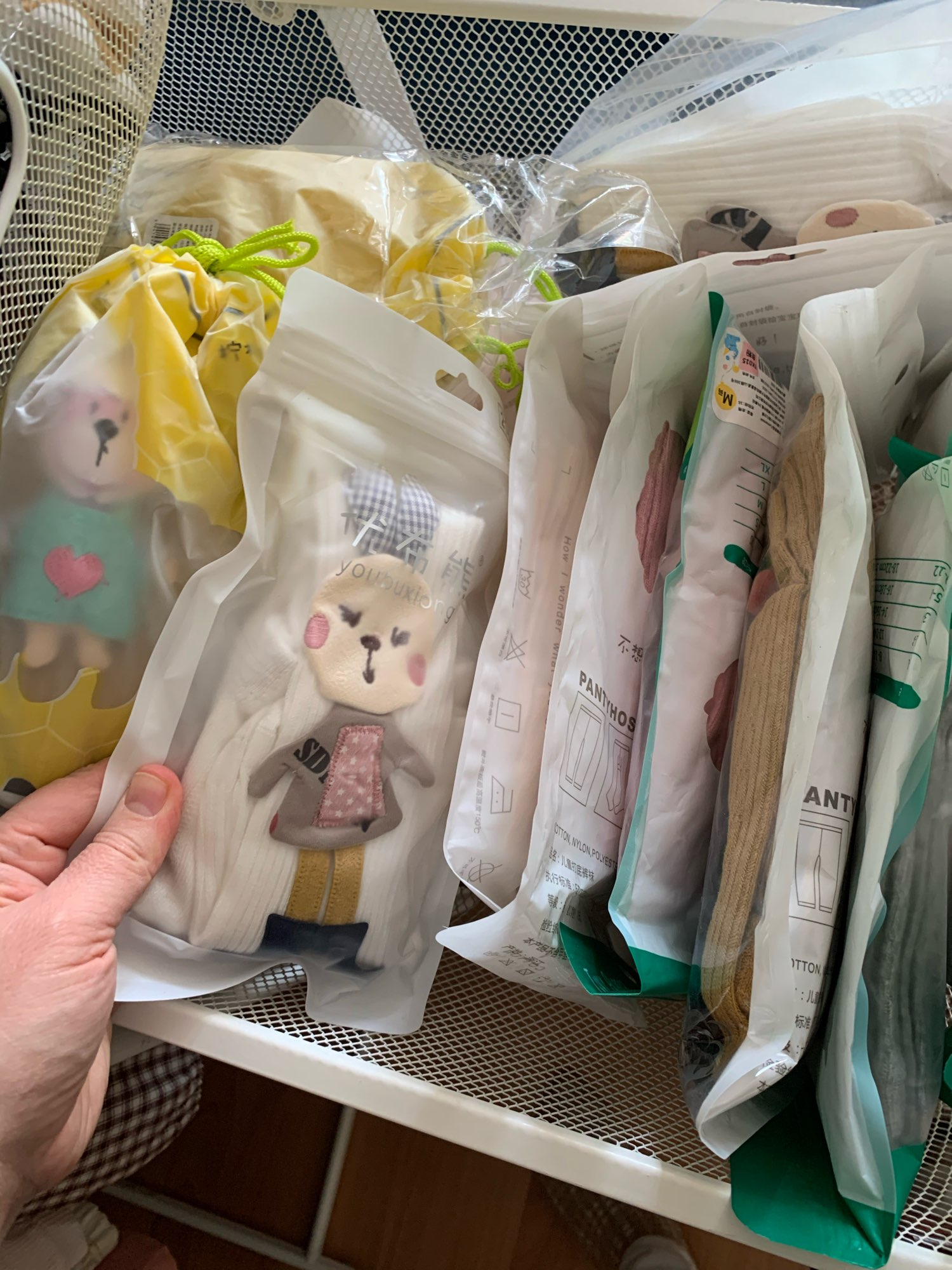 Spring Autumn Kids Knitted Children Pantyhose Cotton Double Needle Tights for Girls Cute Animal Baby Girl Winter Clothes photo review