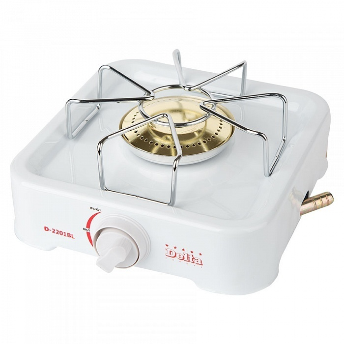 Gas stove Table 1 burner Delta d 2201bl (gas cookers)|Hot Plates| |  - title=