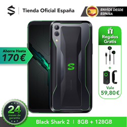 EU Version Xiaomi Black Shark 2 8G 128G (24 months official warranty) Snapdragon 855, New, Phone!