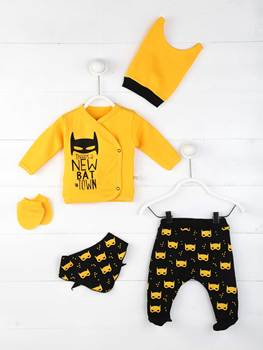 Girls Baby Boy Newborn Clothing 5-Piece Set Cotton Fabric Baby Summer Clothes Gift Daily Casual Stylish Outfit Models