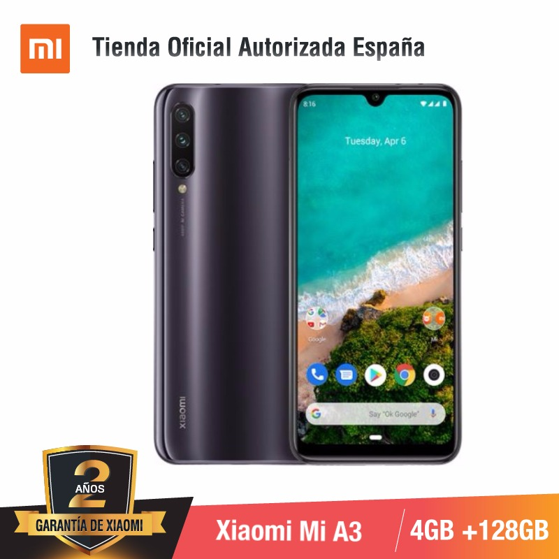 [Global Version For Spain] Xiaomi Redmi Mi A3 (Memoria Interna De 128GB, RAM De 4GB )