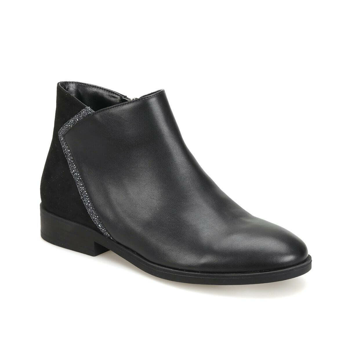 FLO DW18069 Black Women Boots Miss F