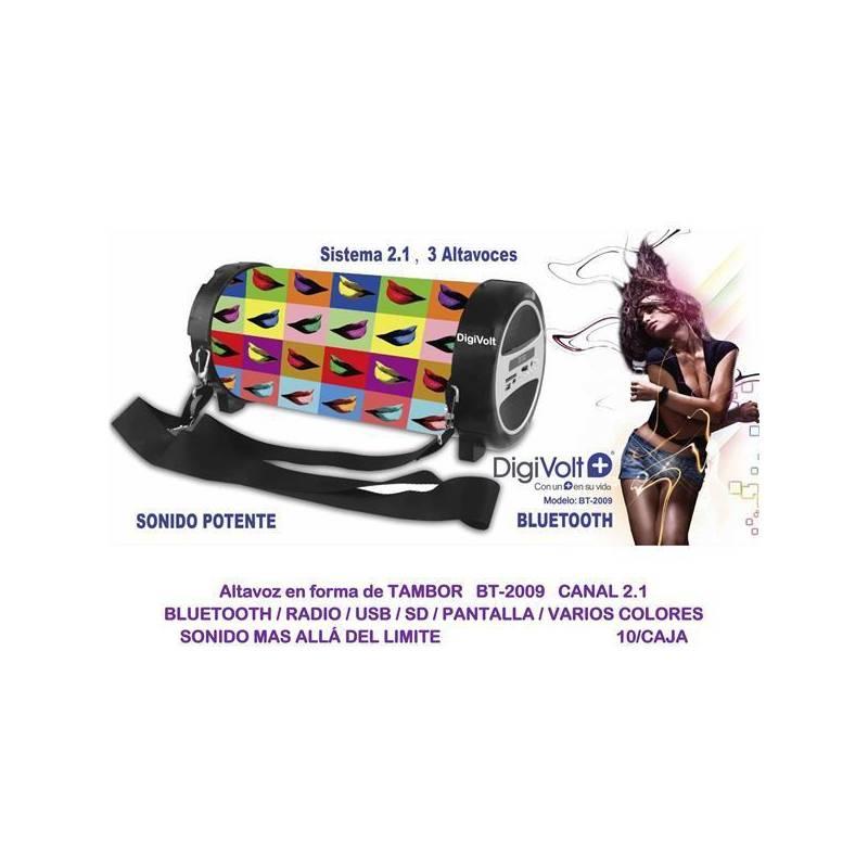 Bluetooth Speaker Drum Digivolt BT-2009
