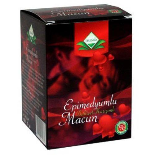 Themra Epimedium Turkish Honey Mix Macun Horny Goat Weed Ginseng Herbal Aphrodisiac– Turkish Paste (4 x 240 gr), %100 Halal 4