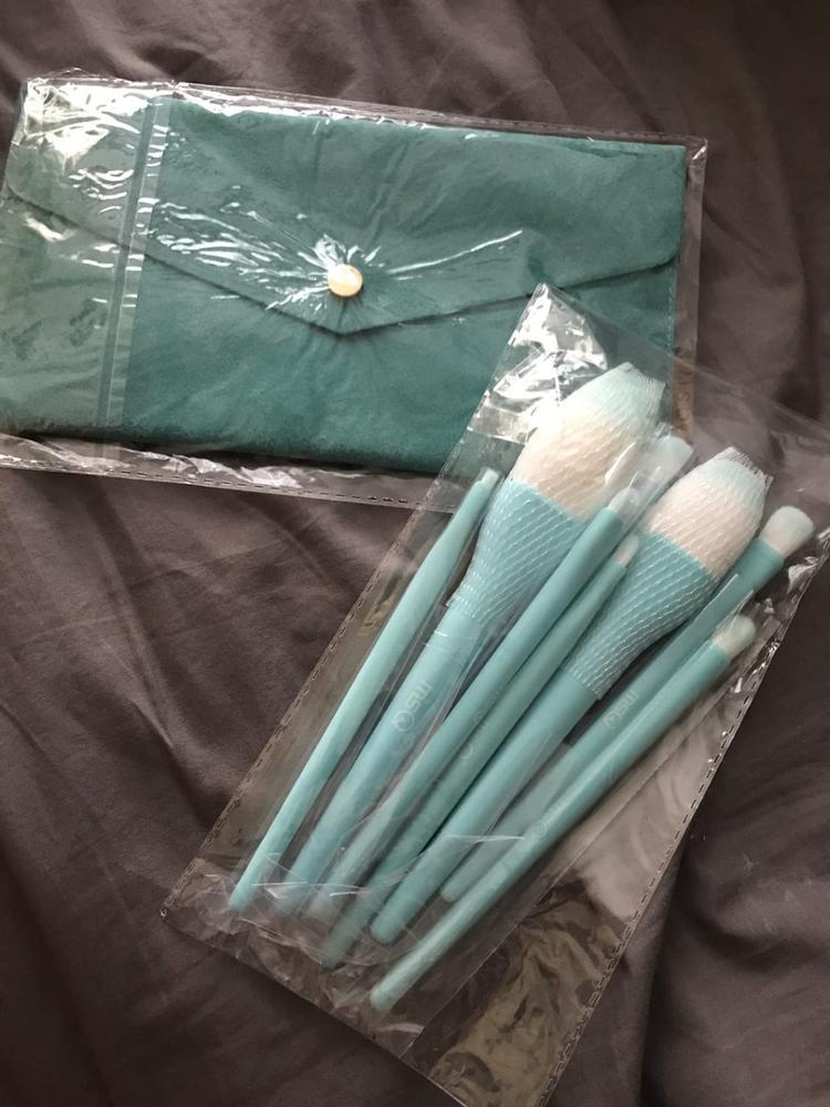 8PCS Makeup Brushes Sets Powder Foundation Blusher Eyeshadow Brush Candy Cosmetic Colorful Make Up NO MSQ LOGO With Bag reviews №1 62070