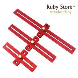 Regulowany kwadrat kombinowany z regułą obróbki drewna Stop 200mm/300mm/400mm do wyboru w Zestawy narzędzi ręcznych od Narzędzia na