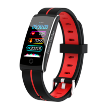 ACCALIA สร้อยข้อมือสมาร์ทฟิตเนสผู้ชายหน้าจอสี IP68 Waterproof ความดันโลหิต Heart Rate Monitor สายรัดข้อมือสำหรับ Android IOS