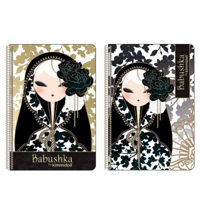 BOOK FOLIO 80 H HARDCOVER BABUSHKA