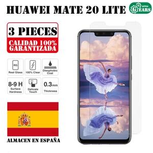 Набор из 3 предметов для Huawei Mate 20 lite, защита экрана из закаленного стекла, ультратонкая Защита от царапин Защитные стёкла и плёнки      АлиЭкспресс