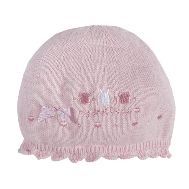 Шапка Chicco, размер 002, цвет розовый