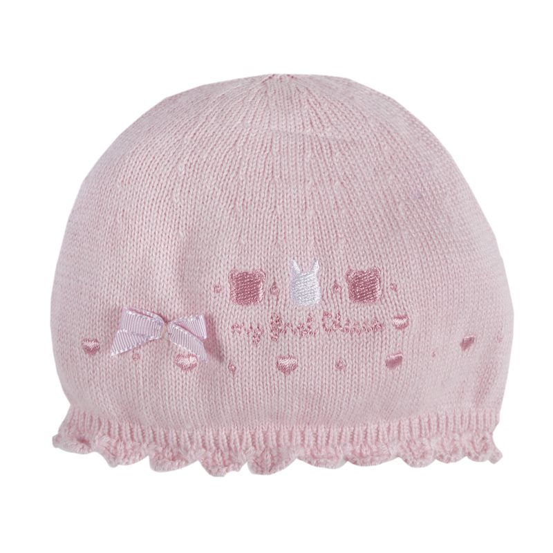 Hat Chicco, size 002, color pink coat color pink