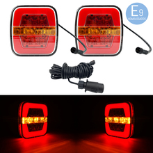 LED drivers trailer 3 functions brake position flashing with CABLE 10 meters connector 7 PIN 12V approved