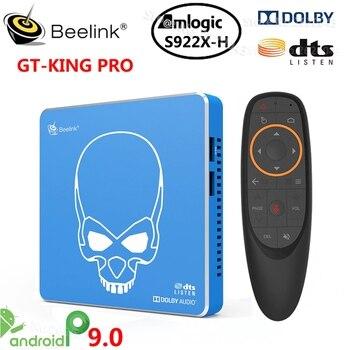 Beelink GT-King PRO TV Box Amlogic S922X-H Android 9.0 TV Box 4GB DDR4 64GB ROM Dolby Audio DTS Listen 4K HD Hi-Fi Media Player
