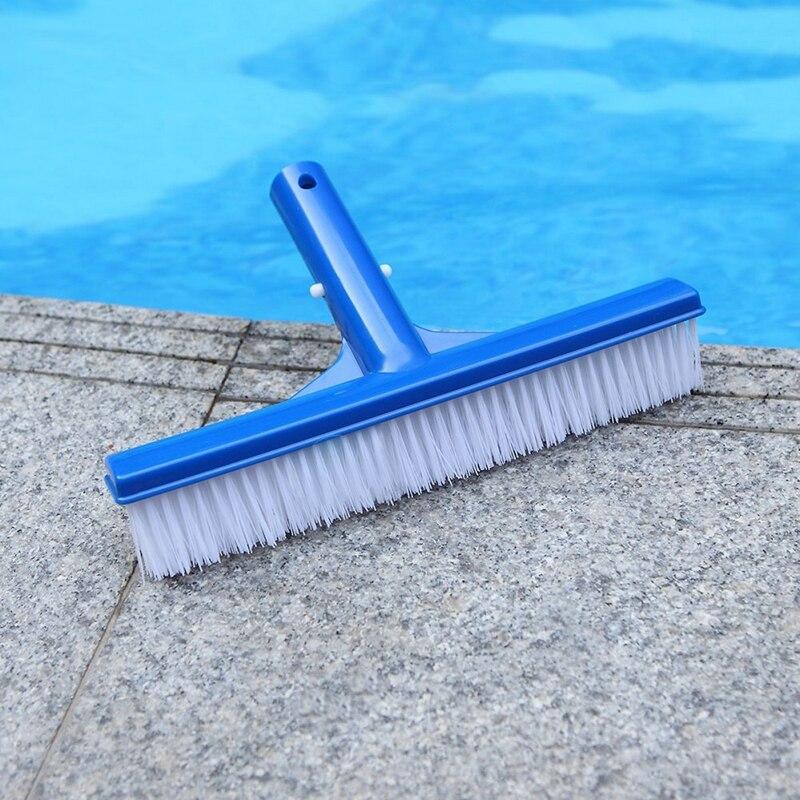 Outdoor Pool Brush Durable Pool Floor Wall Cleaning Tool Pool Broom Algae Remover Scrubber