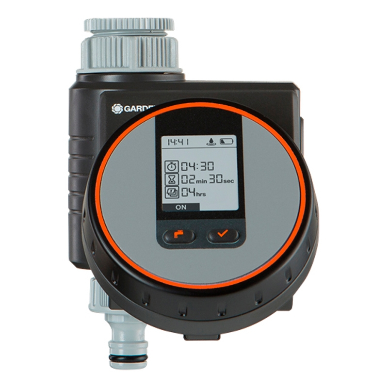 Timer for watering GARDENA 01890-29.000.00 (Installation of irrigation, working pressure 0.5 bar, waterproof.