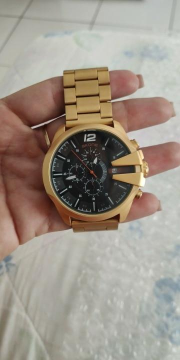 -- Relógio Quartzo Cronógrafo