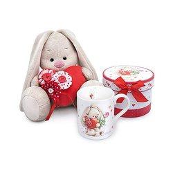 Weiche spielzeug Budi Basa Bunny Mi mit rot herz, 23 cm MTpromo