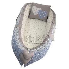 Jaju коробка для младца Mavi Yıldızlı Ortopedik Детские Гнездо
