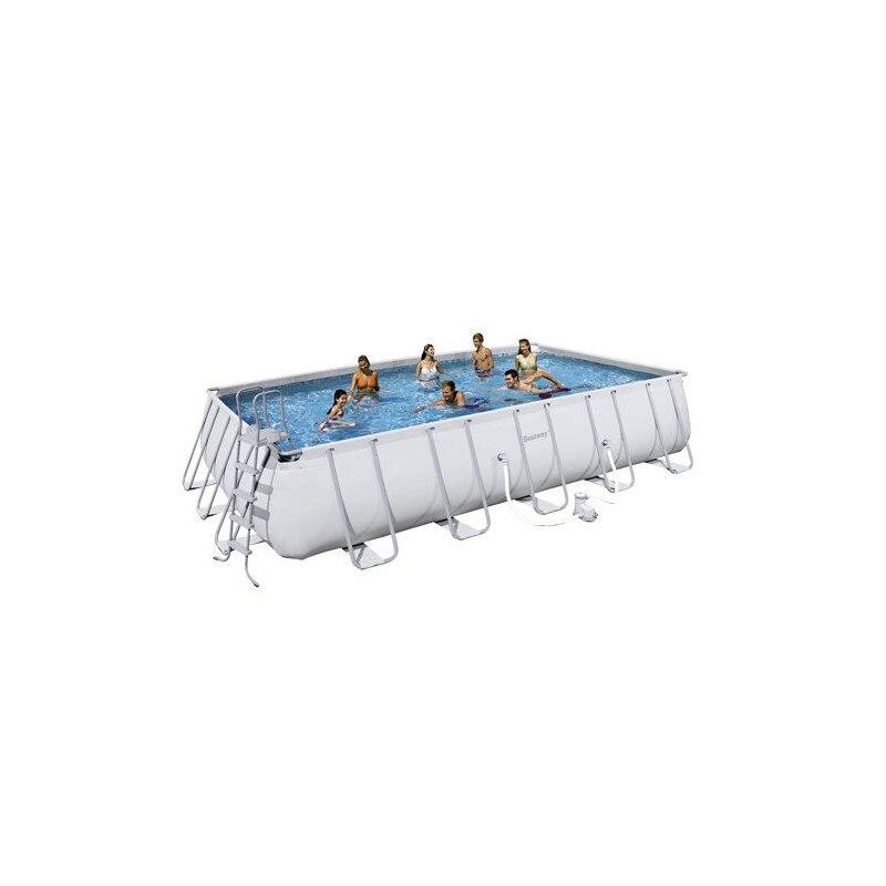 Rectangular Pool With Sewage 671x366x132 Cm.