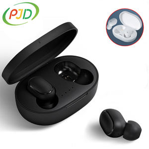 PJD A6S TWS Wireless Bluetooth Headsets Earphones PK Xiaomi Redmi Airdots Headsets Noise Cancelling Earbuds for All Smart Phone