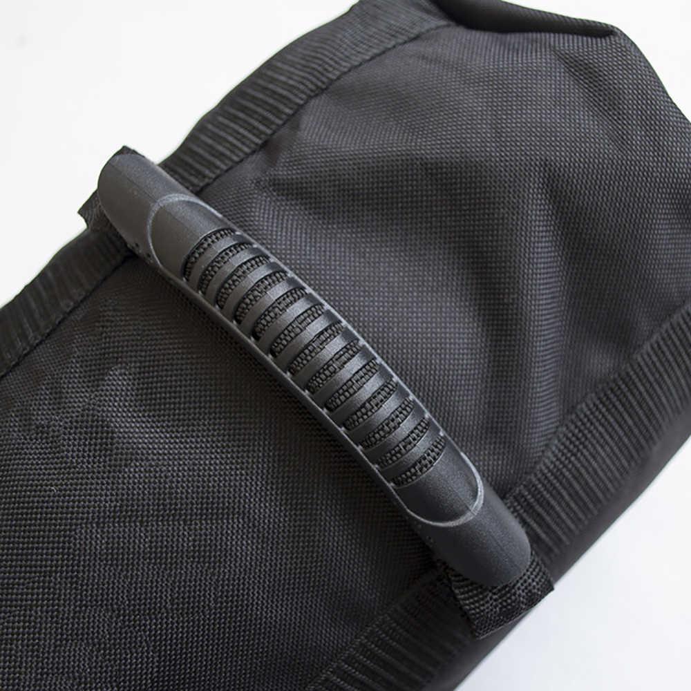 Podnoszenie ciężarów worek z piaskiem regulowany Outdoor Fitness tkanina Oxford do wygodnego treningu torba sportowa łatwe do przenoszenia odporne na zużycie ciężkie