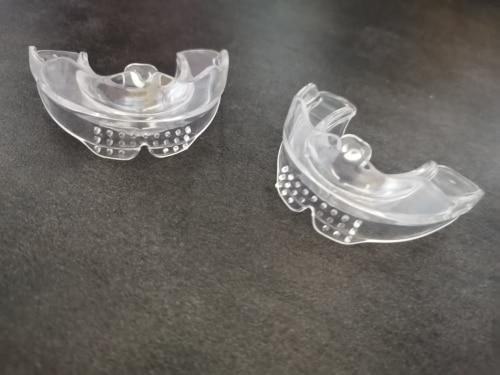 Placa Dental de Silicone para Tratamento de Bruxismo NoBrux photo review