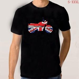 Gran oferta, Unión Ja, bicicleta codificadora británica, Bonneville, camiseta de moto para hombre, camisetas para hombre, camisetas casuales de moda, camisetas