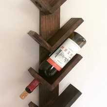 Wine-Rack Organizer Stand Kitchen Wood Storage Stacking Lounge Appearance Inovatif Convenience